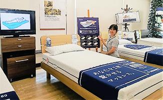 知識豊富なスタッフがひとりひとりのご要望に合わせた、あなただけの最高のベッドをご案内致します。